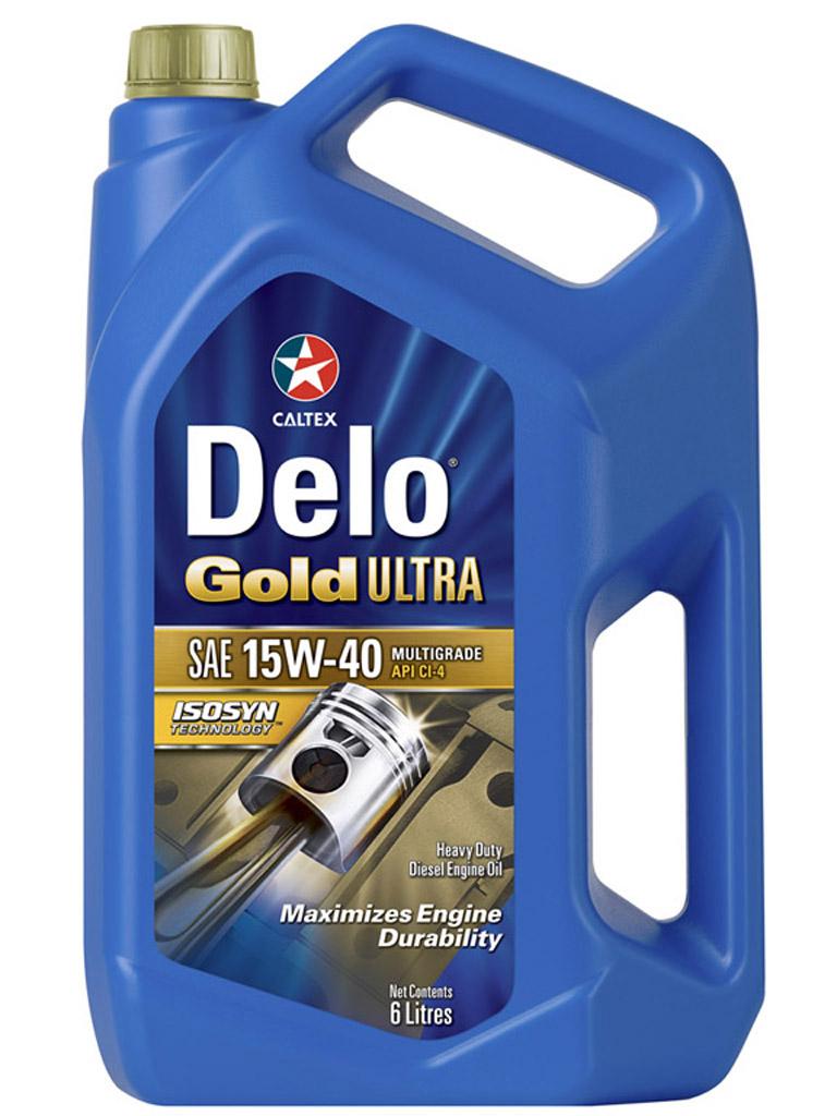 Delo Gold Ultra SAE 15W-40
