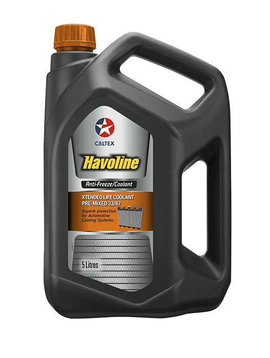 Havoline® Xtended Life Antifreeze/Coolant