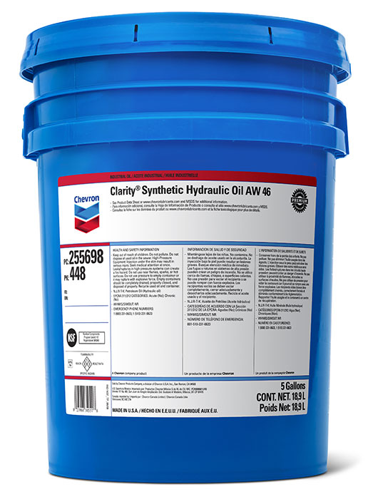 Clarity® Synthetic Hydraulic Oil AW