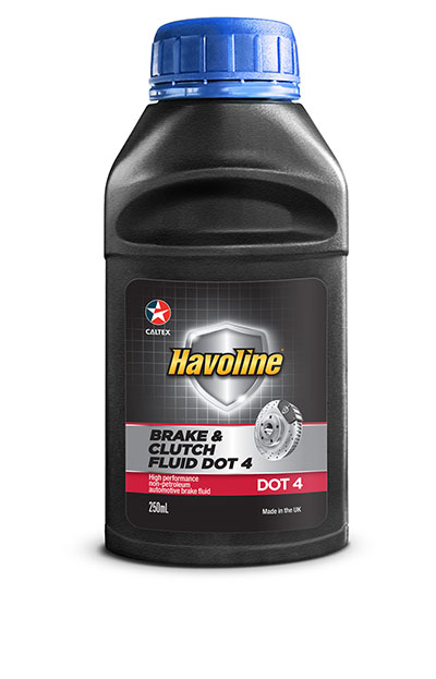Havoline® Brake and Clutch Fluid DOT 4 - Caltex South Africa