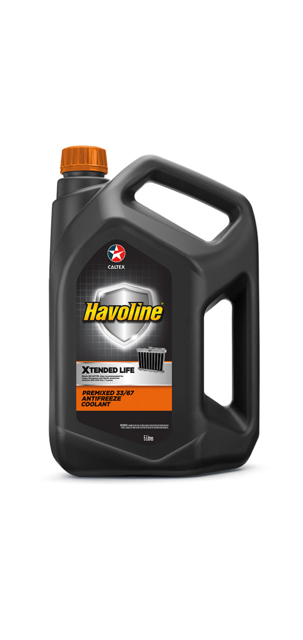 Havoline® Xtended Life Antifreeze/Coolant