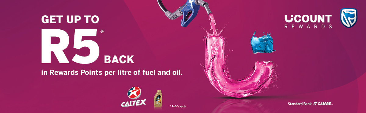 Make your next swipe count with Caltex and UCount Rewards